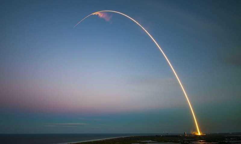 Hình ảnh vụ thử nghiệm trên bầu trời Florida. Ảnh: ĐH Central Florida.